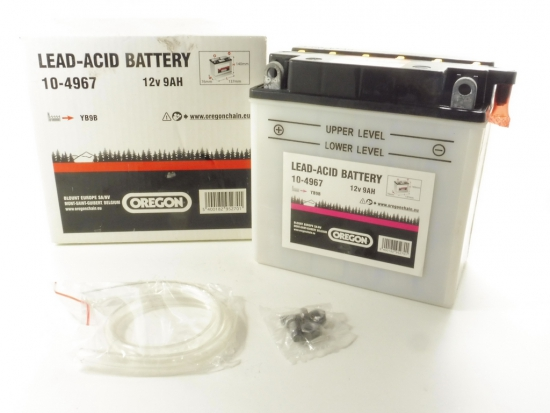 Oregon Batterie Rasentraktor  12V 9 Ah,  Links - 10-4967